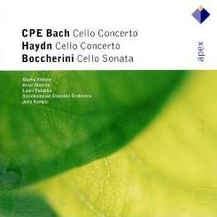 Juha Kangas / Ostrobothnian Chamber Orchestra / Marko Ylönen - C.P.E. Bach: Cello Concerto in A; J. Haydn: Cello Concerto in D album download