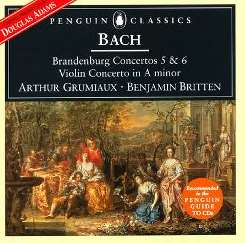 English Chamber Orchestra / Arthur Grumiaux - Bach: Brandenburg Concertos 5 & 6; Violin Concerto in A minor album download