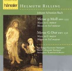 Helmuth Rilling - Bach: Messe g-Moll; Messe G-Dur album download